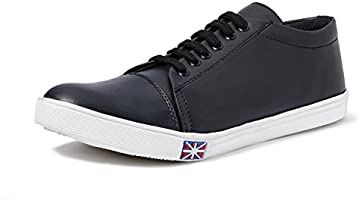 Centrino Men's Black Sneakers-9 UK/India (43 EU)(2102-001)