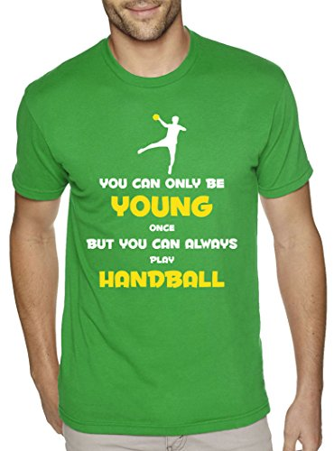 SuperPraise You Can Always Play Handball Funny Slogan Sports Ball Game Hobby Birthday T Shirt