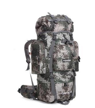 BM Pacchetto del sacchetto all'aperto alpinismo per uomini e donne a piedi movimento tenda zaino Pack Alice Pack , khaki camouflage