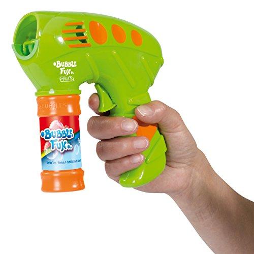 Simba Bubble Fun, Seifenblasen Pistole, Seifenblasenpistole, Spielzeug, Kunststoff, 25 cm, 107288214