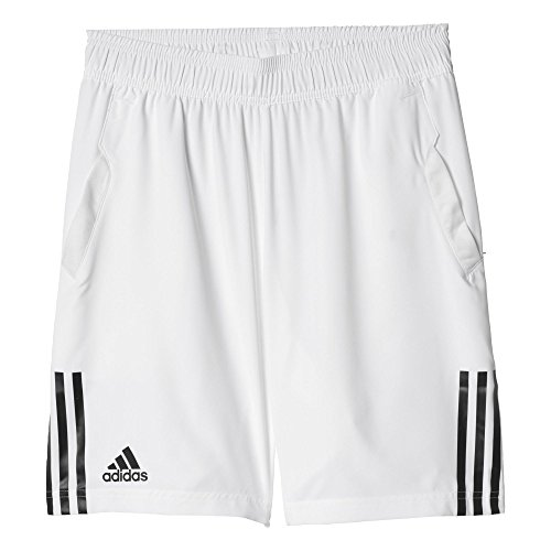 adidas Herren Tennisshorts Club Shorts, White/Black, XL, AJ1551