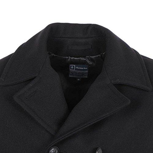 Armor Lux - manteau, caban, duffle coat Noir