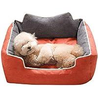 XAJGW Cama para Perros pequeños Cama para Perritos Cama ortopédica Suave para Mascotas Almohada para Camas
