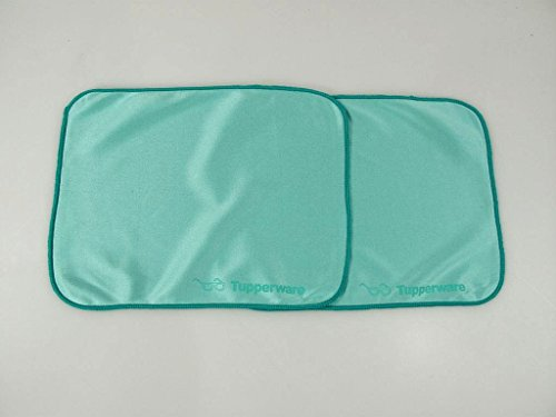 TUPPERWARE Microfibre Lunettes pour nettoyer turquoise (2)