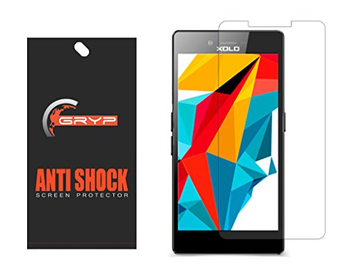 GRYP Unbreakable AntiShock Screen Protector for XOLO Era HD