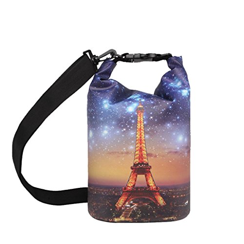 Preisvergleich Produktbild Longra Damen Herren Tasche Handtaschen Schultertaschen Reisege Tasche Umhängetaschen Unisex Treiben (Multicolor, 5L/19*40cm)