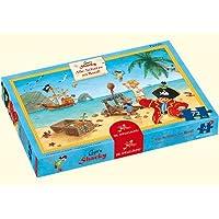 20267 - Die Spiegelburg - Boxpuzzle: Capt'n Sharky - Alle Schätze an Bord!, 72 Teile, 72 Teile