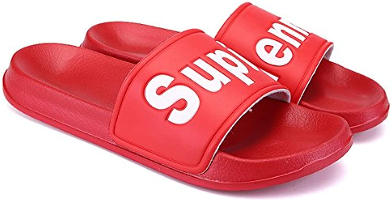 ZHANGRONG   Unisex Erwachsene klassische rutschfeste Sandalen ( Farbe : Rot   größe : EU39/UK6.5/CN40 )