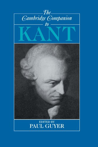 The Cambridge Companion to Kant Paperback (Cambridge Companions to Philosophy)