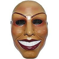 The Rubber Plantation TM 619219291880 The Purge Mask Female Face Design Halloween Fancy Dress, Unisex-Adult, One Size