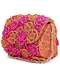 Nitya Biswas Women's Sling Bag (Multicolour)