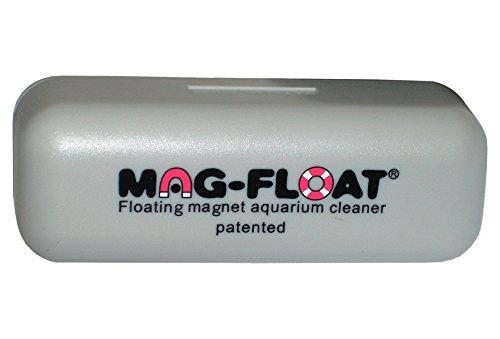 Algenmagnete 100480 Magnetische schwimmende Aquarium-Scheibenreiniger, Long