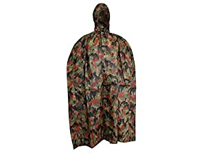 Surplus Militaire Suisse Swiss Temps humide Poncho motif camouflage