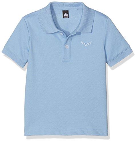 Trigema Unisex Baby 121601 Poloshirt, Blau (Horizont 042), 92 -