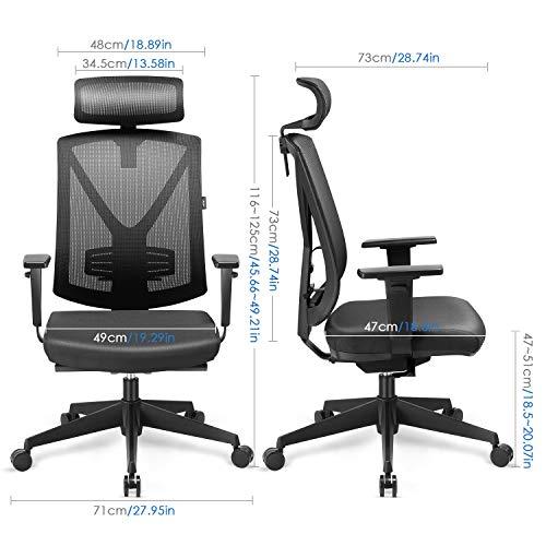 Zoom IMG-2 intey sedia ufficio altezza regolabile