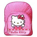 Hello Kitty AST0785 Rucksack, 41 cm, mit 2 Reißverschlüssen, für Trolley, Rosa