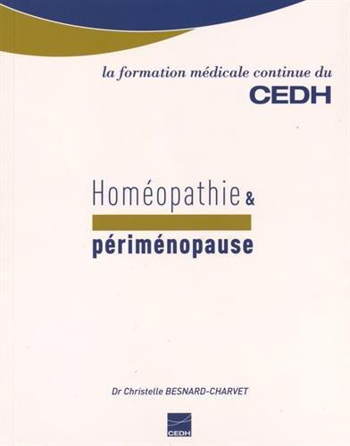 Homéopathie & périménopause par Christelle Besnard-Charvet