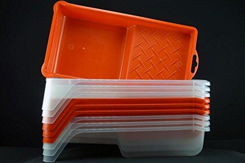 Kunststoff Farbwanne 15x27x5,5cm - Lackierwanne - Lackwanne - Lackierwannen