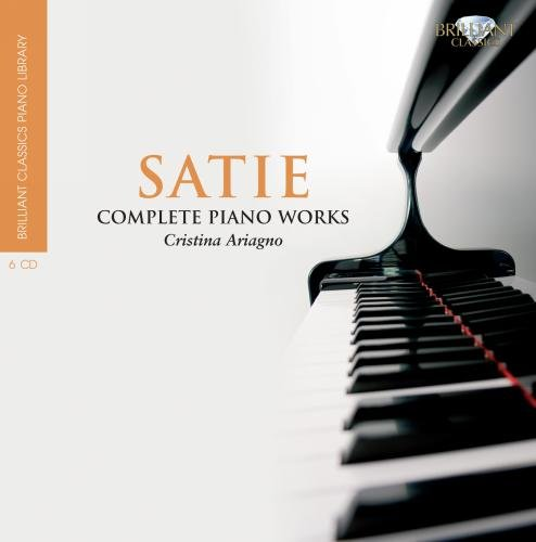 Brilliant Classics Piano Library: Satie - Sämtliche Klavierwerke