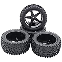 RCAWD Llanta de neumático Rc Wheels Nylon para coche Rc 1/10 Buggy Off-