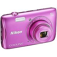 Nikon Coolpix S3700 Fotocamera Digitale Compatta, 20 Megapixel, Zoom 8X,