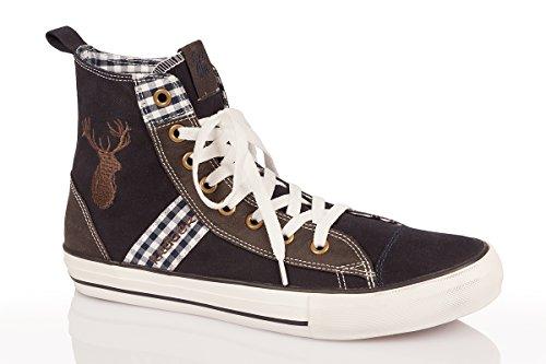 Trachten Herren Sneaker - JAMES - marine, Größe 45