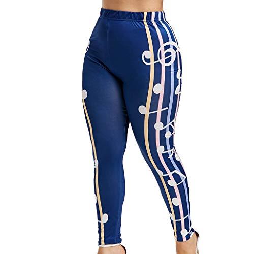 BHYDRY Frauen-hohe Taillen-Yogahosen Plus Größen-patriotische Streifen-Stern-amerikanische ()