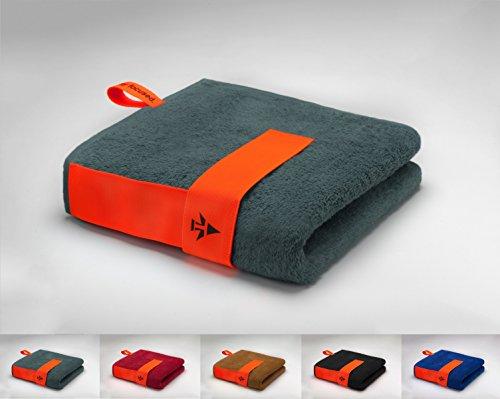 skilly Flex Band Sporthandtuch/Fitnesshandtuch | Perfekt für Das Fitnessstudio | Saugfähig und Extra weich|