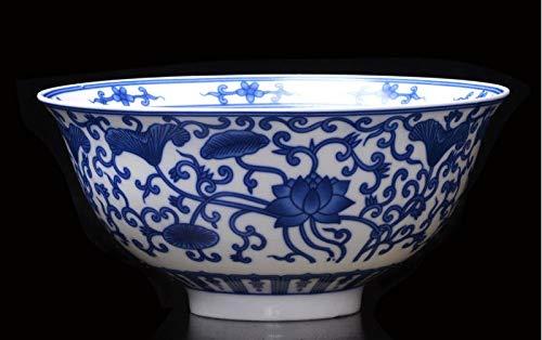 HR Antike Porzellan Pastellblau und weiß Porzellan blau und weiß Blumenschale Dekoration Kollektion Geschenk Kreative Keramik Schale Scorpion Bowl