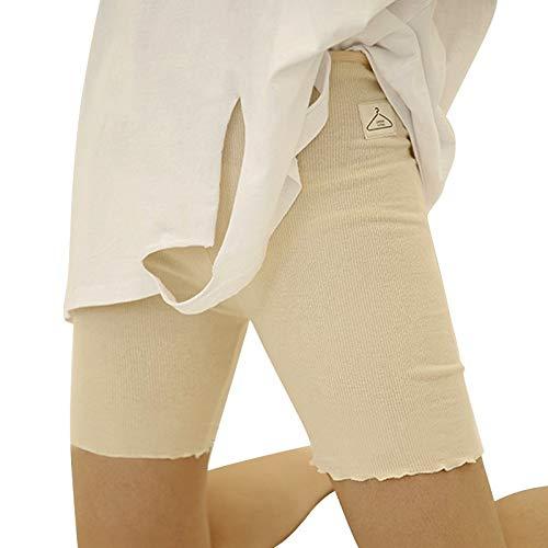 Beige Kurze Höschen (WNuanjun, Sommer Waer Weiche Baumwolle Mutterschaft Casual Shorts Hosen Für Schwangere Kurze Hosen Frauen Hosen Hohe Elastizität Höschen Weiche Kurze (Color : Beige))