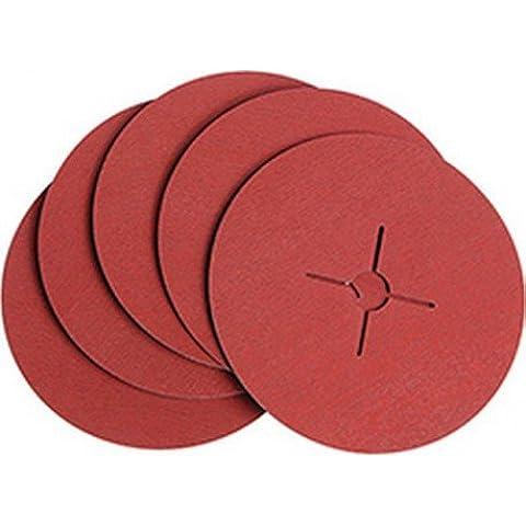 VSM 0007682060080 - Disco abrasivo, (fibra cerámica K 80, 180 mm)