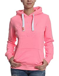 Superdry - Sweat à capuche - Femme rose rose