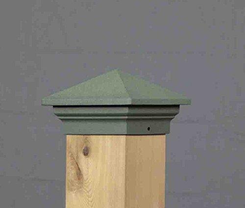 SIRIUS Post Gap (passend zu Aurora Deck Licht), 3-1/5,1cm grün - Post-low-voltage-deck