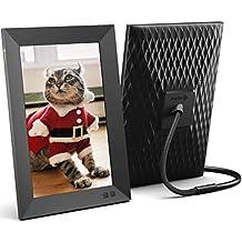 Nixplay Marco Digital Inteligente 10.1 Pulgadas, comparta Videoclips y Fotos al Instante a través de un Correo electrónico o la aplicación