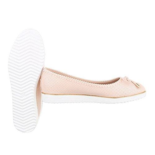 Ital-Design , Ballerines pour femme Rosa G05
