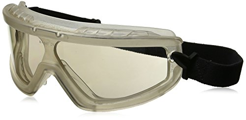 Radians BG1-91 Barricade Lightweight Indoor/Outdoor Anti-Fog Lens Compact Goggle with Adjustable Elastic Strap by Radians