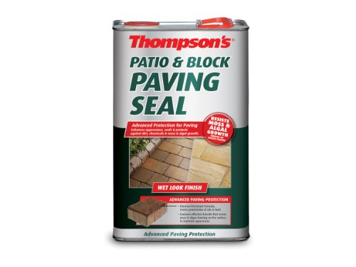Ronseal PBPSWL5L Patio & Block Paving Seal Wet Look 5 Litre