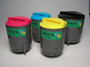 .pripa. 4 x kompatible Toner je 1 x - black - cyan - magenta - yellow, zu Samsung CLP 300   CLP 300N   CLX 2160   CLX 2160N   CLX 3160N   CLX 3160FN.