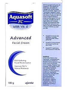 Aquasoft Fc with Vit.E Advanced Facial Cream 100G