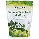Dr Mercola - Tierra diatomáctica con aguja, 453,5 g, 1 bolsa