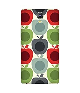 Apples Grande Printed Back Cover Case For Gionee Marathon M5
