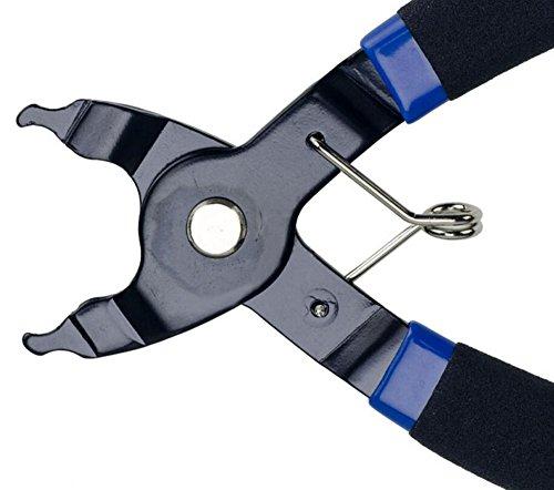 JOYORUN Werkzeug Kettengliedzange Linkfix, Schwarz-Blau, Fahrrad Ketten Werkzeug, Kettenverschluss-Glied, 678, 9, 10 fach Ketten - 4