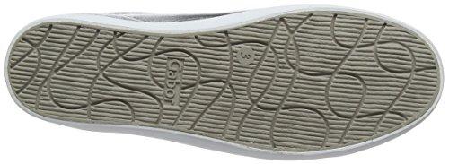 Gabor Damen Comfort Sneakers Silber (silber 10)