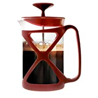 Primula 6-Cup Tempo Coffee Press, Red