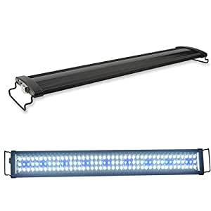 Aquarien ECO Lampe Aquarium LED 2660lumen Longueur 90cm-35inches - Blanc Bleu LED LAMPE pour Aquarium 90-110cm