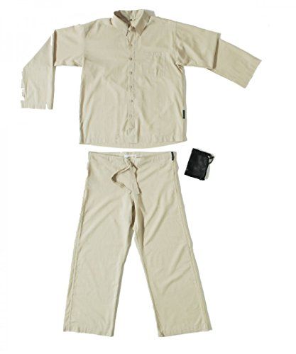 Insect Shield Travellers Tree sand, Pyjama (Baumwolle-pyjama Herren-Ägyptische)