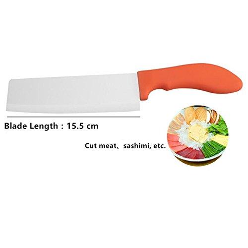 X-jang Eu Keramikmesser Set, ( Fleisch Messer, Gemüsemesser Keramik Obstmesser, Schäl Messer ) , Chefmesser Keramik Mit Der Professionellen, Bestehend Aus 3 Verschiedenen Messer