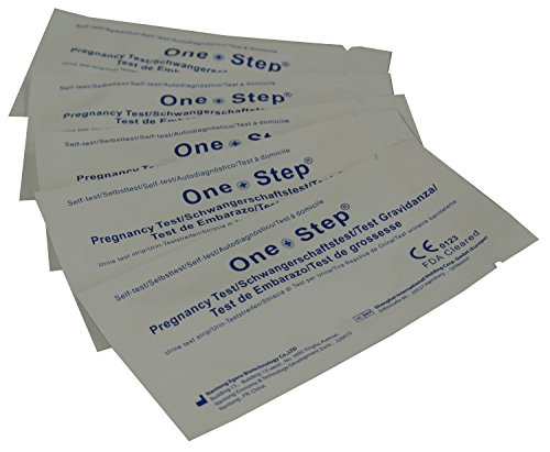One Step® 20 x Highly Sensitive 10mIU Pregnancy Test Strips (tests up to 6 days earlier)