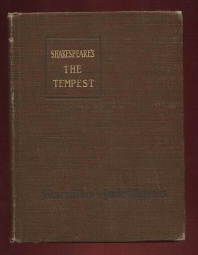The tempest, (The Arden Shakespeare)
