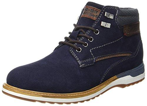 Bugatti Herren 321357311400 Klassische Stiefel, Blau (Dark Blue), 42 (Herren Stiefel)